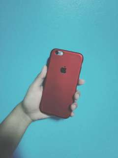 Iphone 6/6s red case