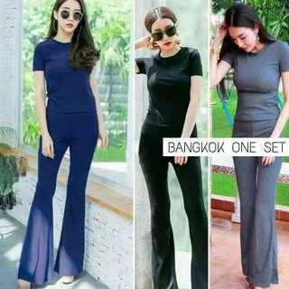 Bangkok One Set (celana + baju)