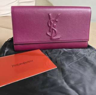 Preloved YSL BDJ Clutch 2012