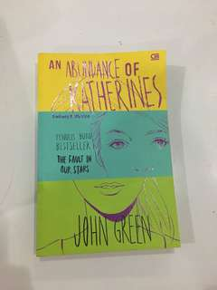 An Abundance of Katherines (preloved book)