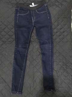 Mango Elastic-Waist Skinny Jeans