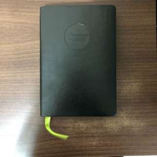 🚚 Passion Planner 2018 Dated Compact Timeless Notebook