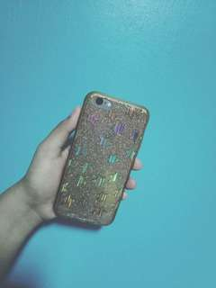 Iphone 6/6s gold star case