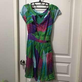 Mango Tropical Dress
