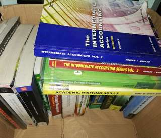GenAd, Accounting, Management and Law Books