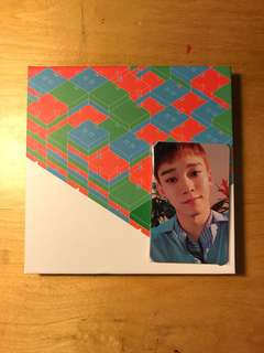 EXO CBX BLOOMING DAYS ALBUM OFFICIAL CHEN PHOTOCARD PHOTO CARD KPOP