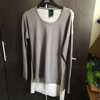 Two-tone Long Sleeves