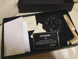 Boy Chanel Flat wallet羊皮85%new100%real