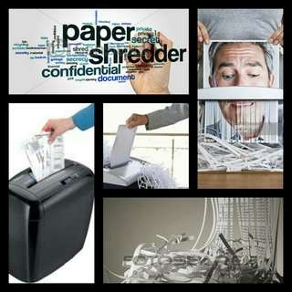 Ledah xc600 Desk Top shredder  for small office and home ofgice.  Cross Cut. 6 sheets CAPACITY.  Powerful.  CD/DVD slot