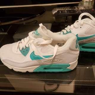 Women Nike air max 90 Emerald Green