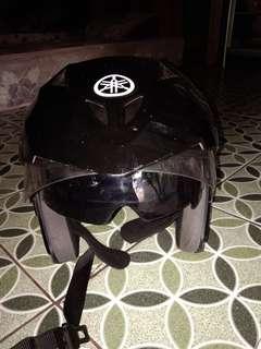Helm yamaha nmax ada kacamatanya