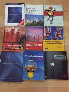 University Books for $5! (Murdoch,NUS,SIM)
