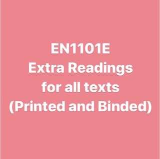 EN1101 Readings