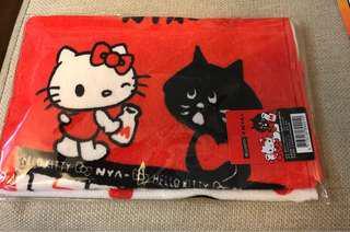🚚 屈臣氏 Hello kitty x Nya 限量 毛巾組 2入