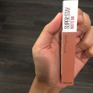 Maybelline superstay matte ink Driver