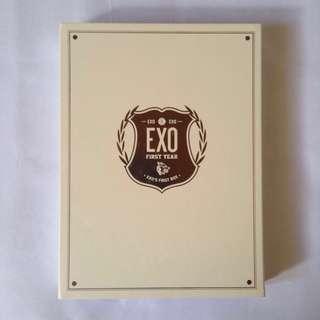 EXO First box official dvd only - tag photocard photo card sehun luhan kai suho d.o. Chanyeol baekhyun tao kris che xiumin lay