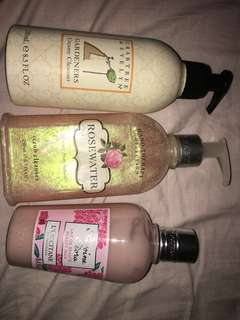 LOCCITANE/ Crabtree and Evelyn bundle deal