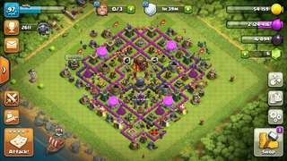 Clash of clans town hall lv 10 account