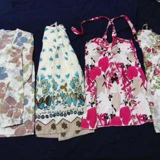 平口洋裝/長裙(兩穿式)