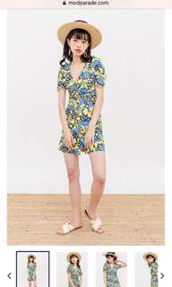 Modparade patty dress- sunflower