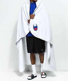 Champion weave cotton blanket