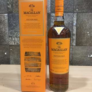 Bid at www.drink2connect.com.sg/Auctions for Macallan Edition 2 Whisky