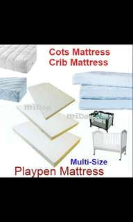 🚚 Customize baby cot mattress and playpen