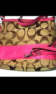 100% real 98% new coach 手袋 handbag