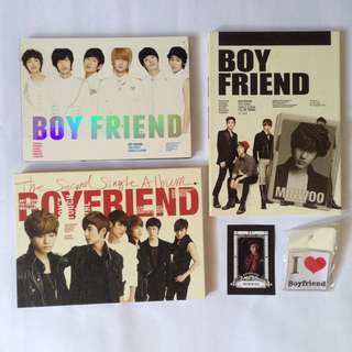 Boyfriend Official album with Minwoo photocard