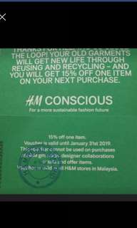 Foc voucher any purchase