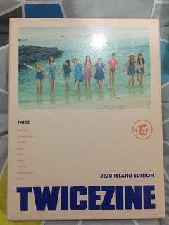 TWICE Twicezine jeju island