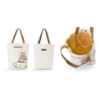 日本布甸狗帆布袋 Japanese Pom Pom Purin canvas bag