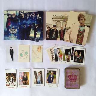 Teen top - official album and official card set with tin