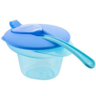 BNIP Tommee Tippee Cool and Mash Weaning Bowl with Lid & Spoon 4m+