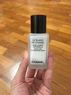 🚚 Le Blanc De Chanel multi-use illuminating base 30ml