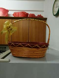 New year Rattan Basket 新年禮藍藤籃