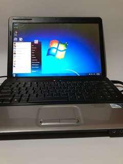 LAPTOP CAMPAQ CQ40 (Black) WINDOWS 7./ intel Pentium