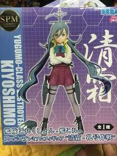 Kancolle : Kiyoshimo SEGA SPM ( Super Premium Figure)