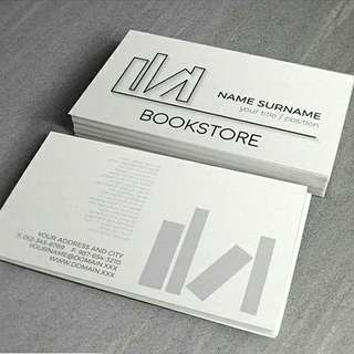 🚚 Cheapest! Business Name Card printing, 500pcs both sides, full color, lamination finishing