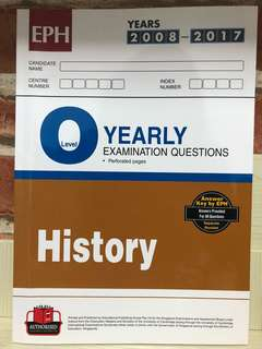 Core History O level Ten Years Series(Yearly)