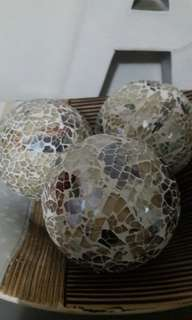 Mosaic Balls in Ethnic Plate