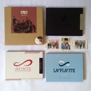 Infinite official album tag photocard L