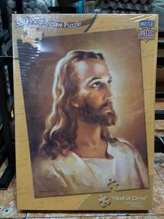 """550 Pieces Jigsaw Puzzle """"Head of Christ"""""""