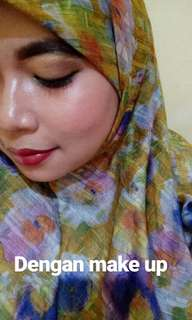 Jasa Make-Up & Hijab Do