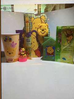 Assorted Pooh items