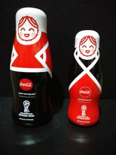 Coca Cola WC Russian doll set
