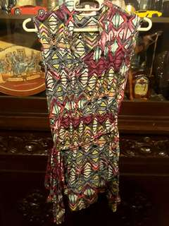 Jellybean Printed Dress