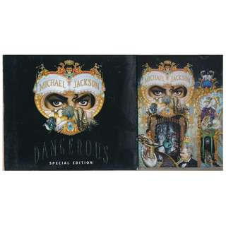 {CD 藏珍舖} Michael Jackson ~ DANGEROUS SPECIAL EDITION CD