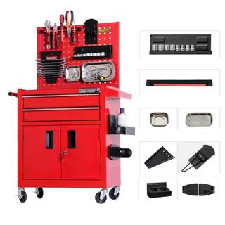 Premium Heavy Duty Industrial Grade Full metal workshop cabinet tool box toolbox for tools drills etc