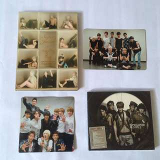 Super Junior official album with group card Kyuhyun